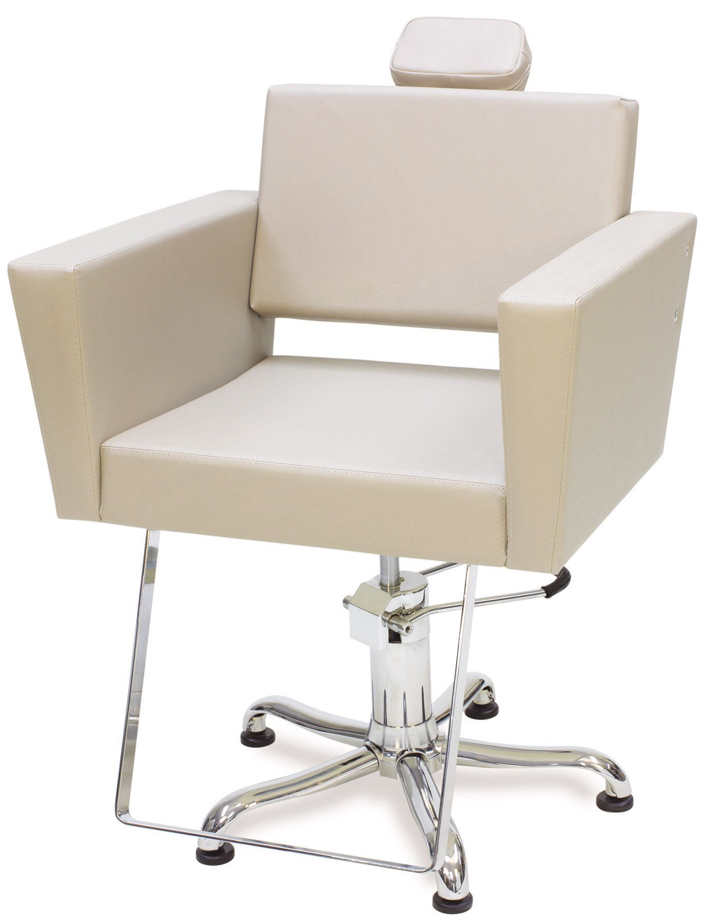 Cadeira Poltrona Kixiki Niágara Fixa Bege