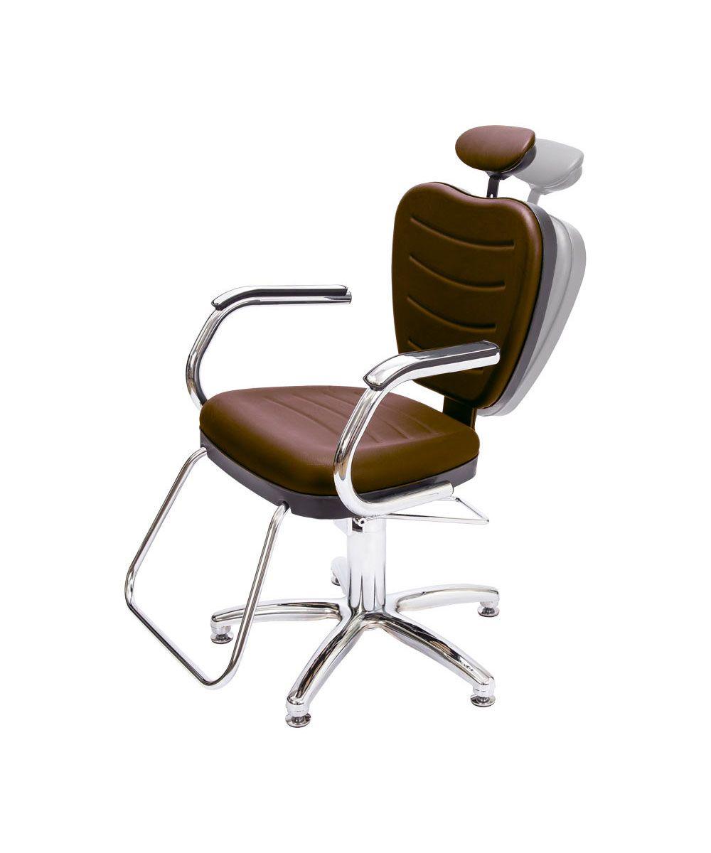 Cadeira Top Reclinável Dompel Marrom