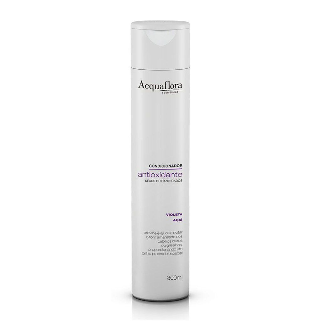 CONDICIONADOR ACQUAFLORA 300ML ANTIOX SECOS OU DANIF