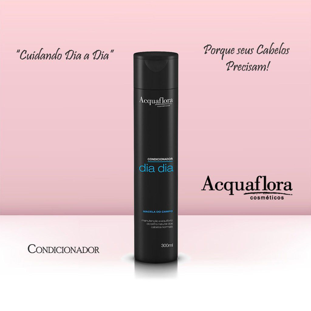 CONDICIONADOR ACQUAFLORA 300ML DIA DIA