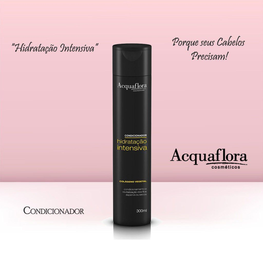 CONDICIONADOR ACQUAFLORA 300ML HID INTENSIVA