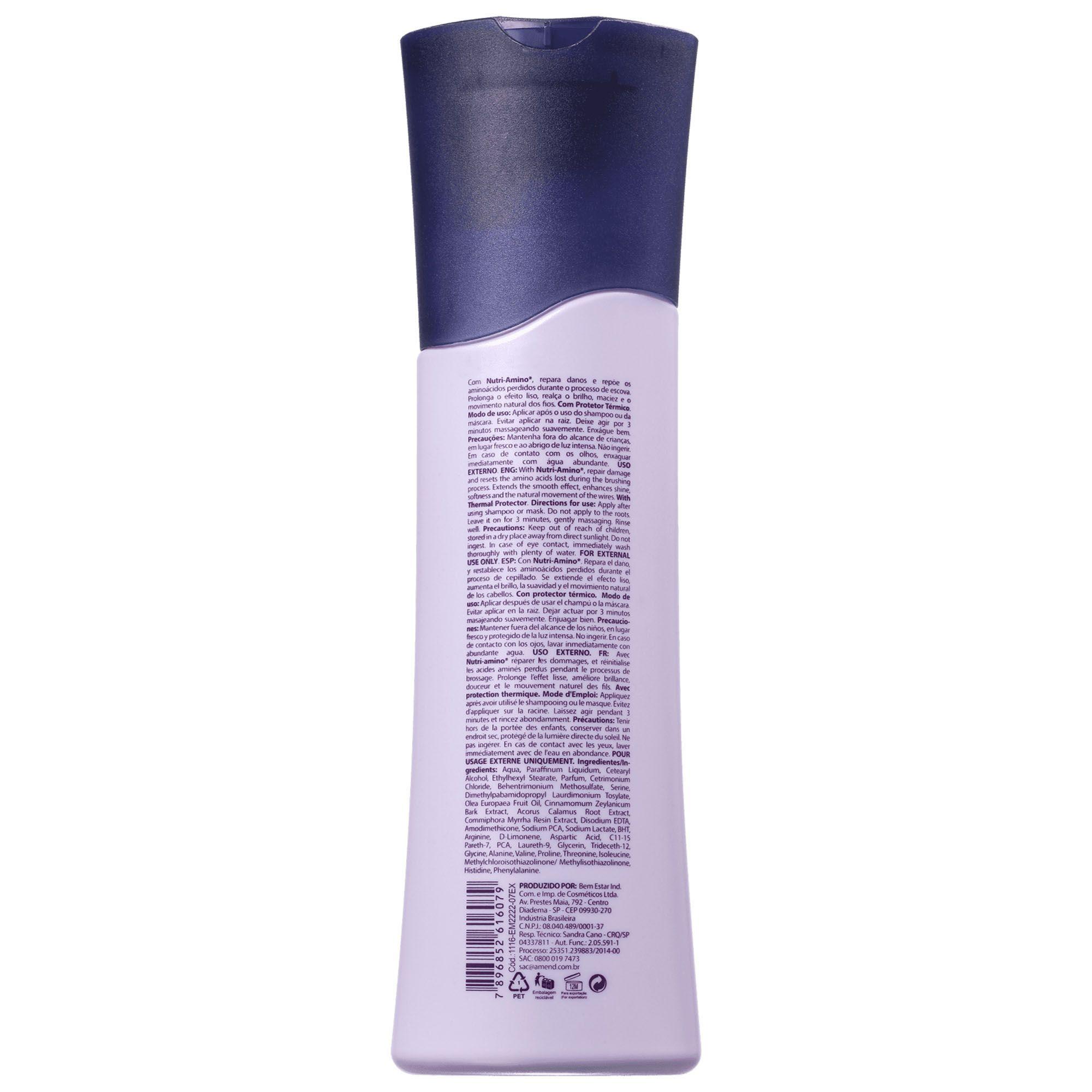 Condicionador Intensificador Pós Progressiva - 250ml Amend