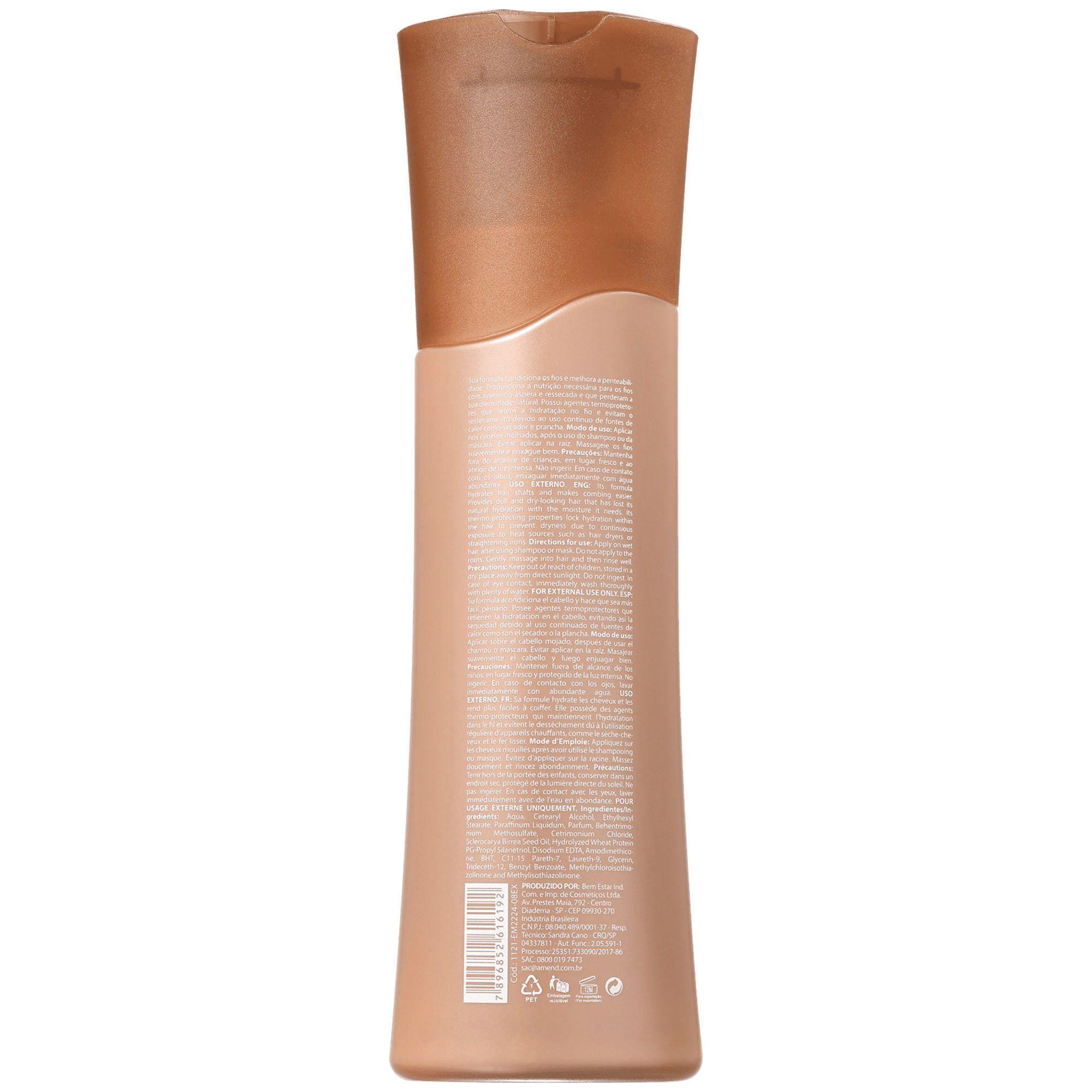 Condicionador Nutritivo Marula - 250ml Amend