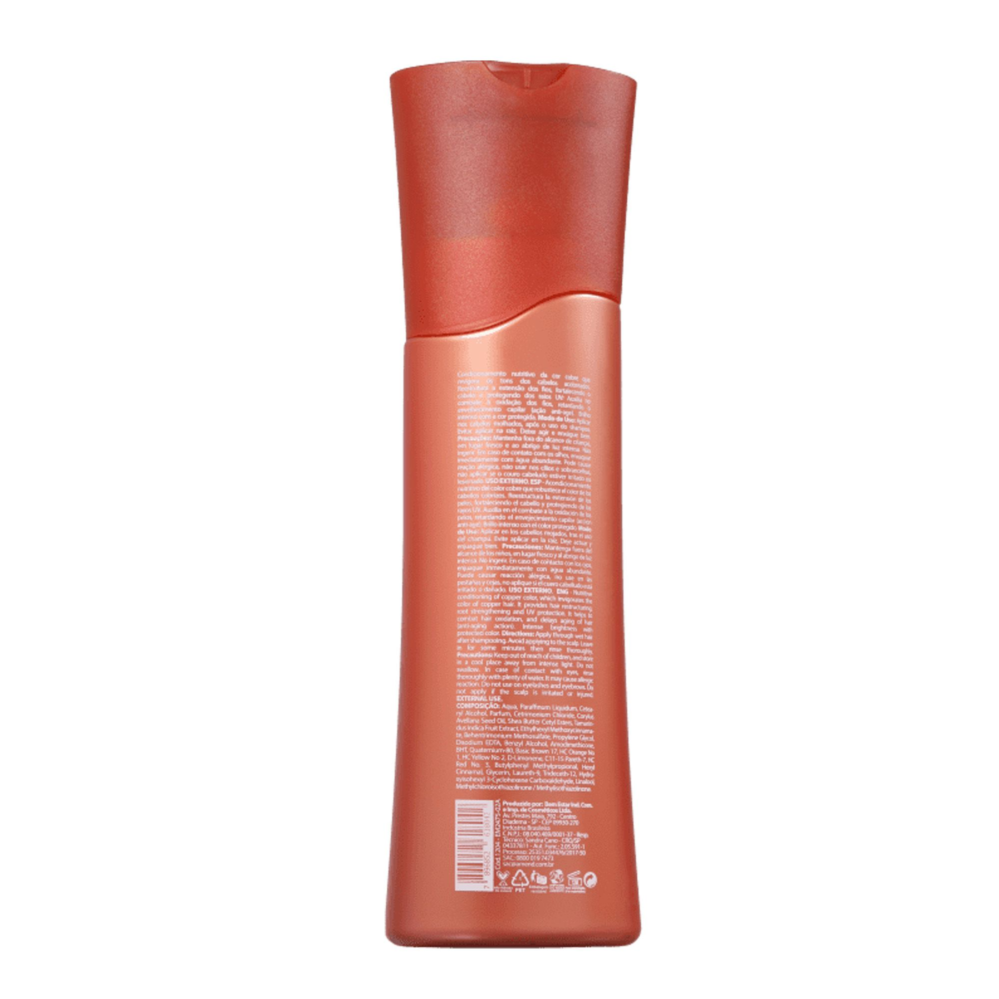 Condicionador Realce Da Cor Cobre Effect - 250ml Amend