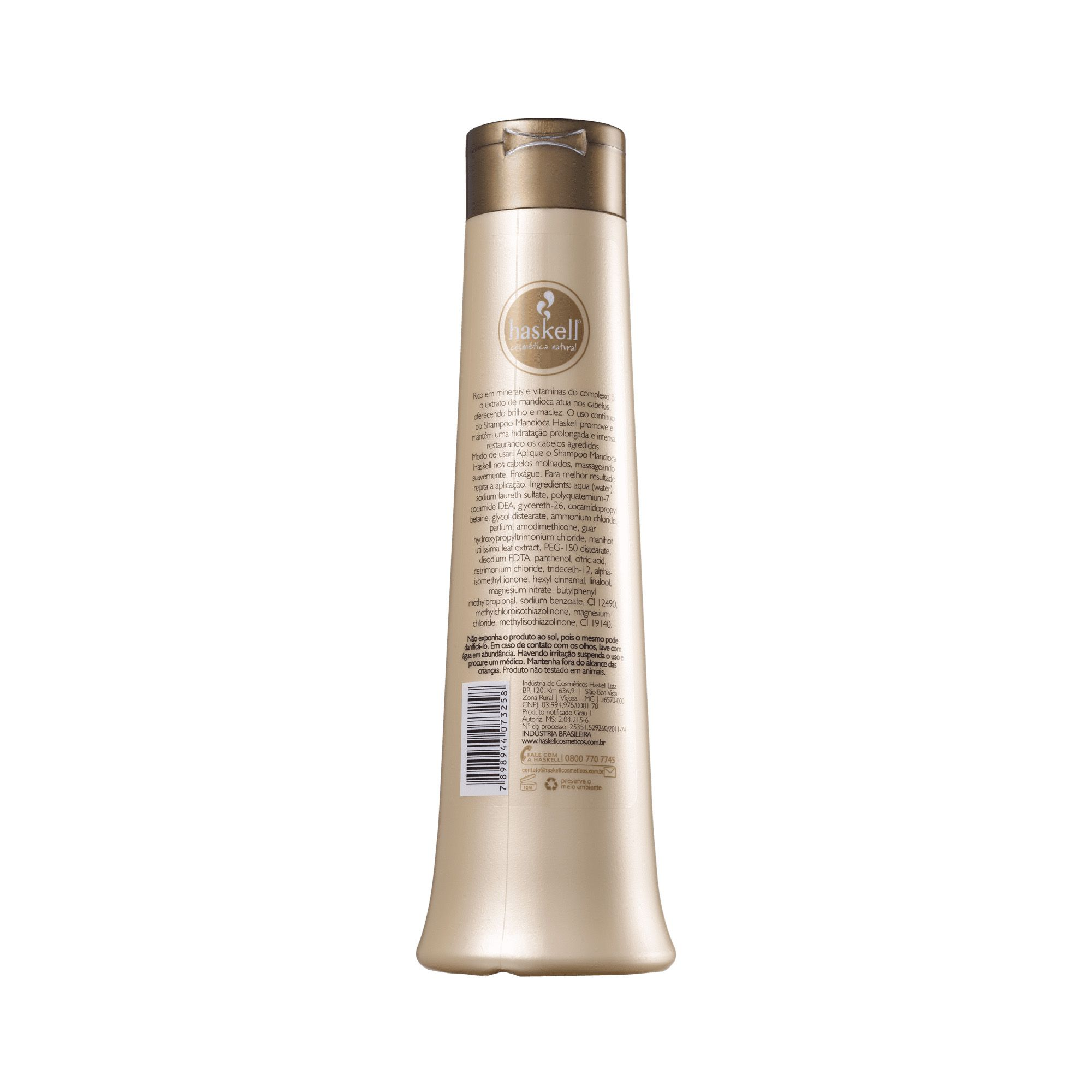 Shampoo Mandioca 500ml - Haskell