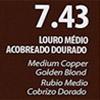 7.43 - Louro Médio Acobreado
