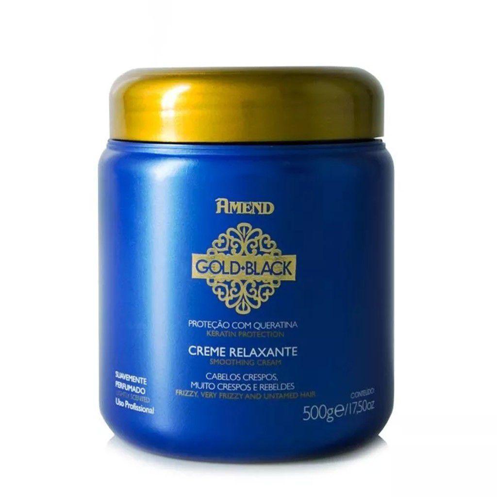Creme Relaxante Gold Black Amend 500gr
