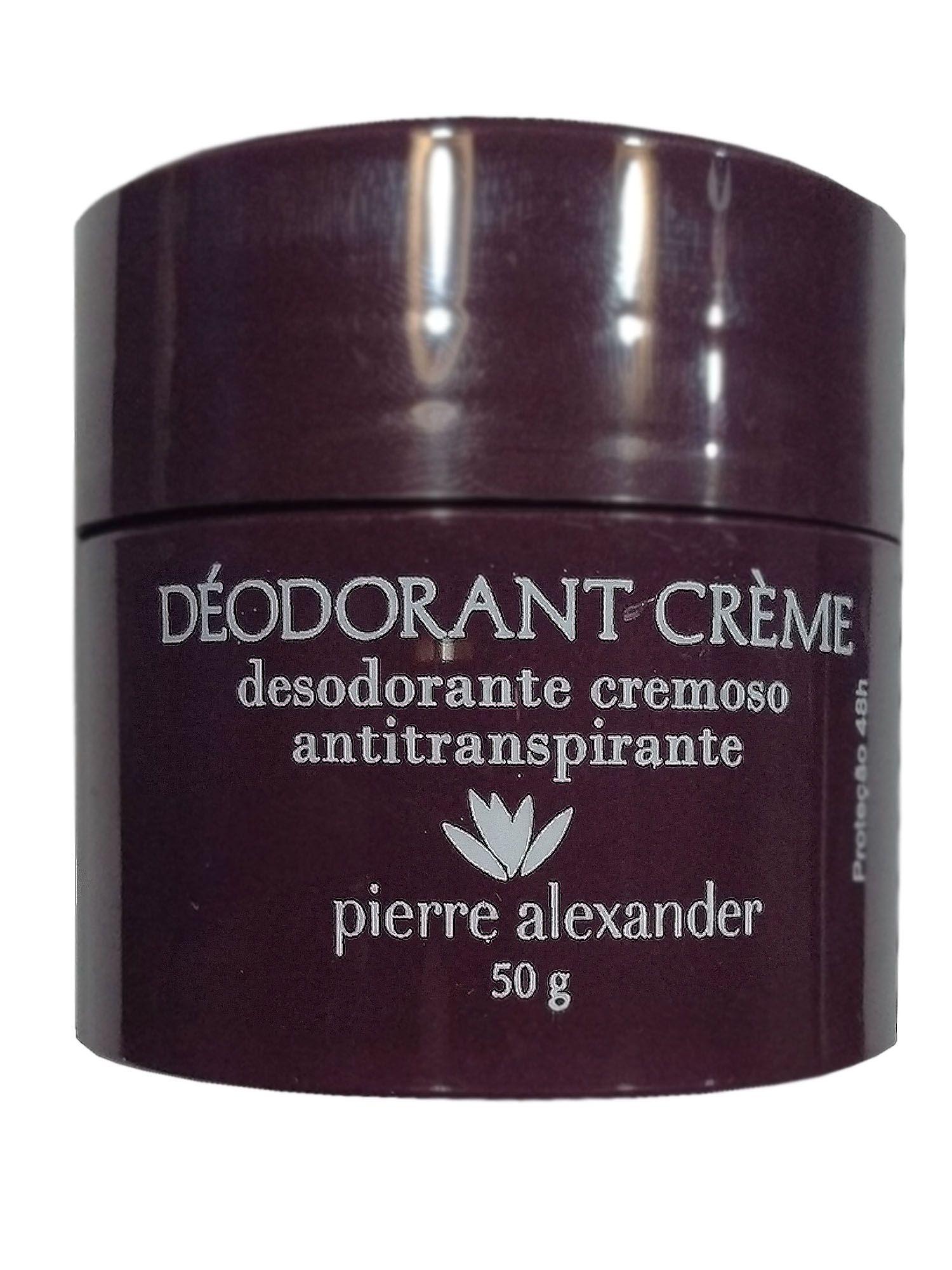 Desodorante Pierre Alexander Creme Ant-Transpirante 50g