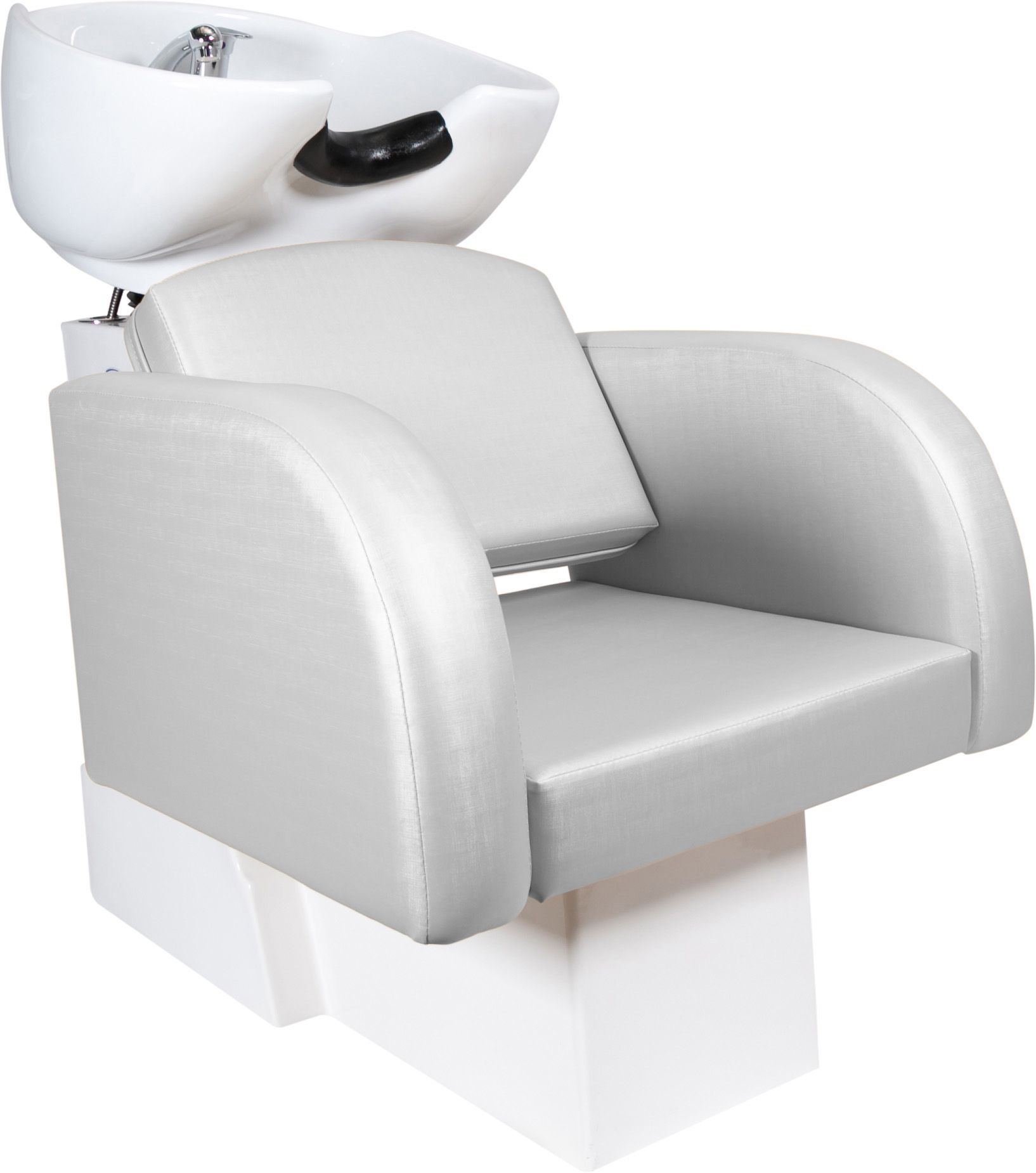 Destak Prata - Lavatorio + 2 Cadeiras Fixas