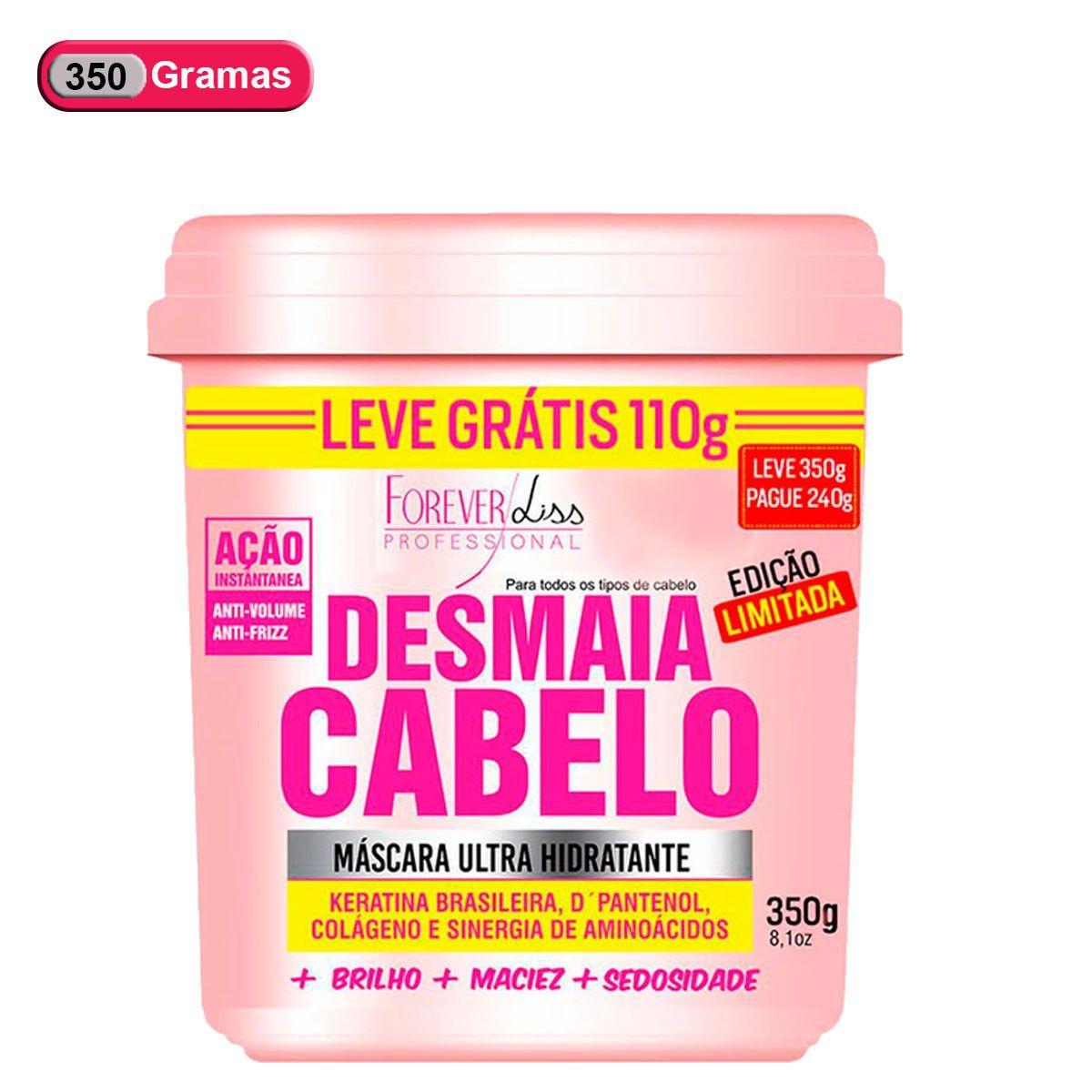 Forever Liss Máscara Ultra Hidratante Desmaia Cabelo 350g - Edição Especial