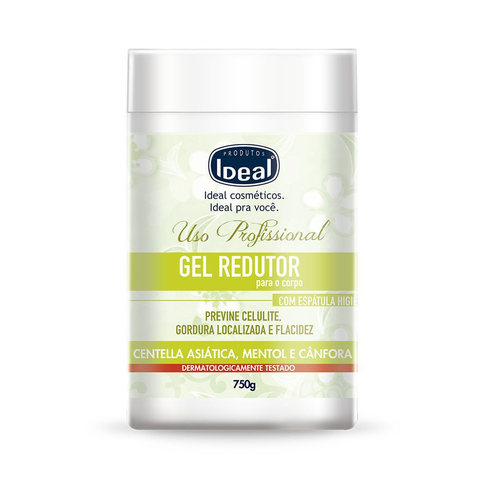 Gel Redutor Com Mentol E Cânfora (750g) - Ideal