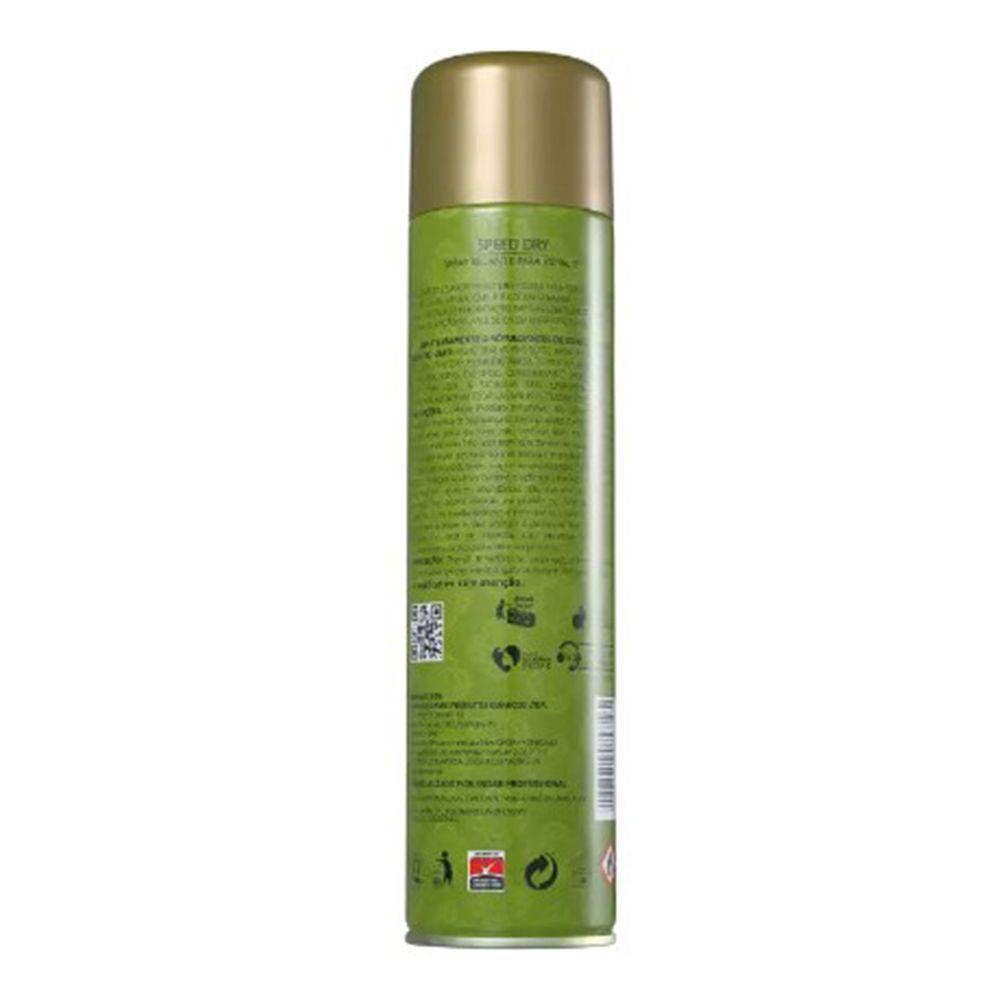Kit 06 Inoar Speed Dry - Spray Secante Para Esmalte 400ml