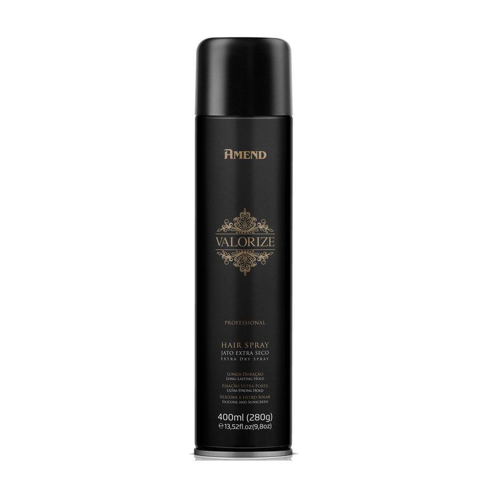 Kit 4 Und Hair Spray Ultra Forte Valorize 400ml Amend