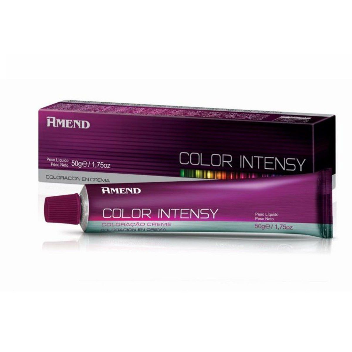 Kit 6 Und Coloração Color Intensy Amend 50g