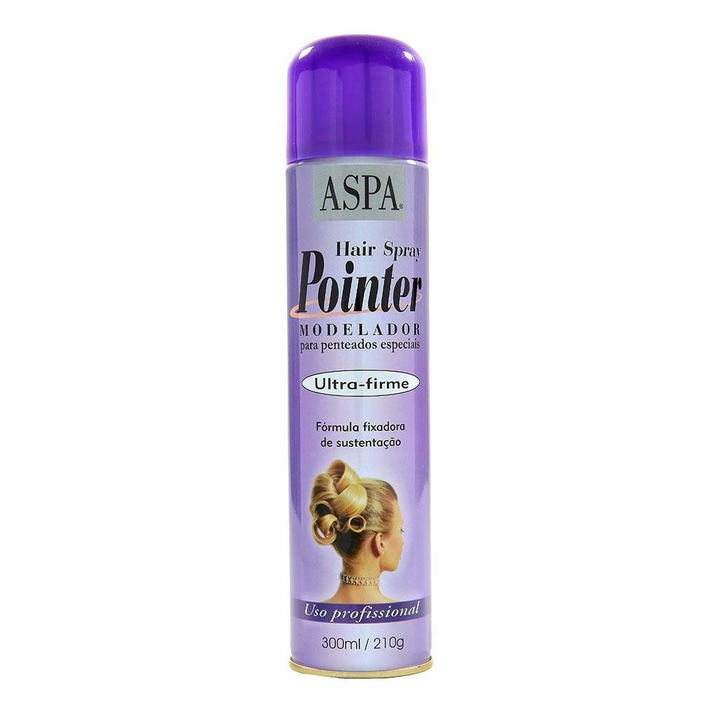 Kit 6 Und Spray Aspa Pointer Modelador De Penteados 300ml