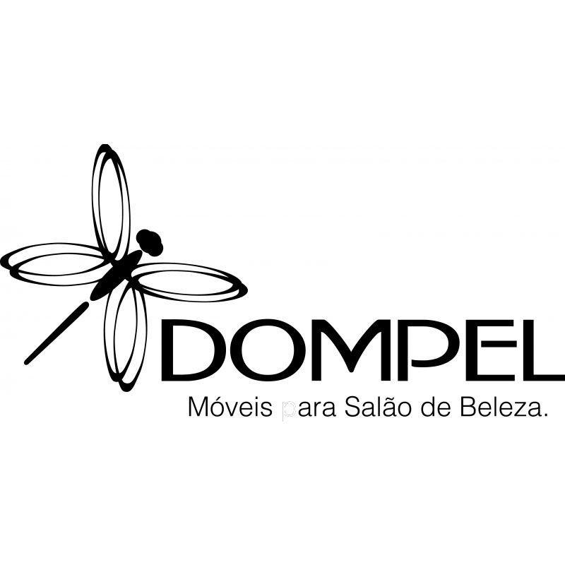 Kit Cadeira Futurama Base Cromada + Carrinho Dompel Beauty Cafe