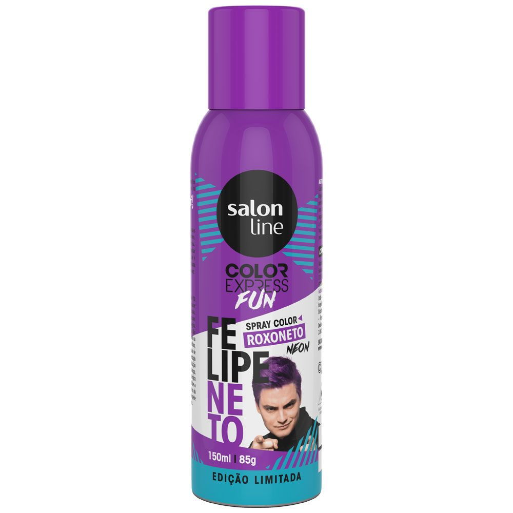 Kit 6 Color Express Fun Spray Color Felipe Neto - Salon Line