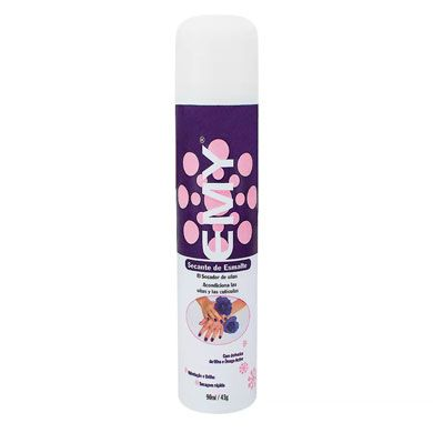 Kit Com 03 Unid Spray Secante de Esmalte Emy 400ml