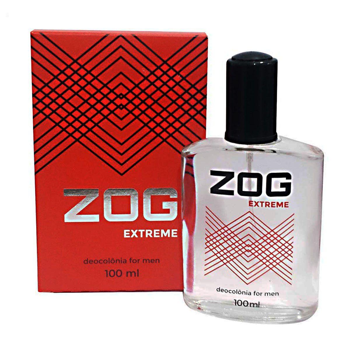 Kit DeoColonia Zog For Men (4-Sport/4-WINE/4-ADVENTURE/4-EXTREME)-16 Colonias+Suporte+Provador