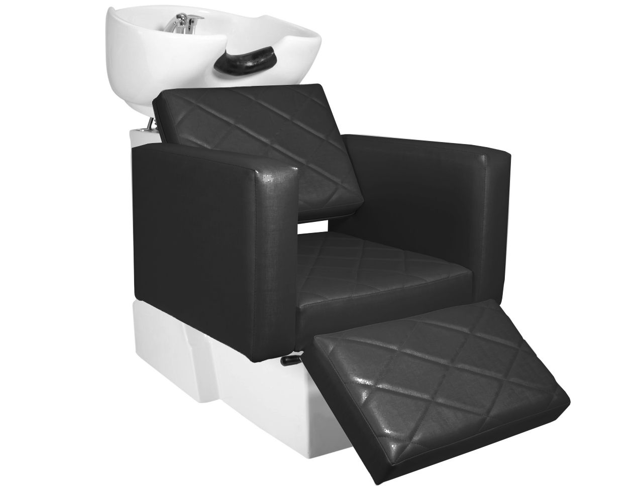KIT Evidence -1 Cadeira Reclinável Com Descanso de Pé + 1 Lavatório Com Descanso de Pé