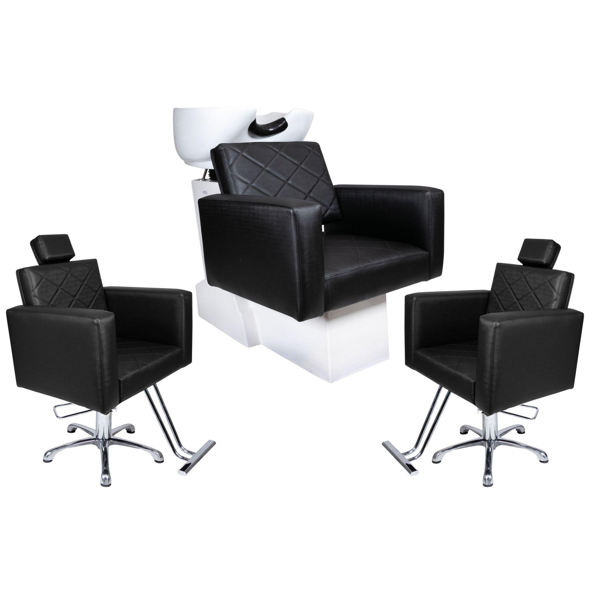 KIT Evidence -  2 Cadeiras Fixas + 1 Lavatório