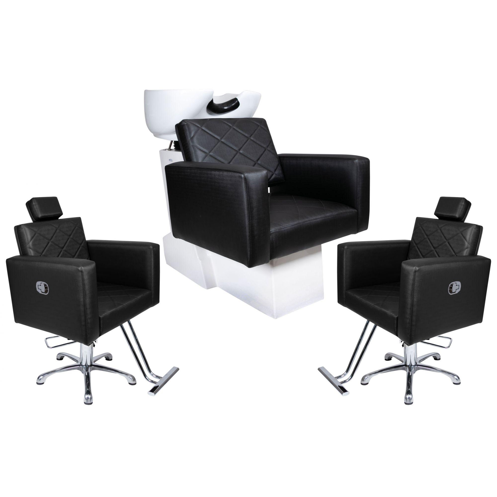 KIT Evidence - 2 Cadeiras Reclináveis + 1 Lavatório