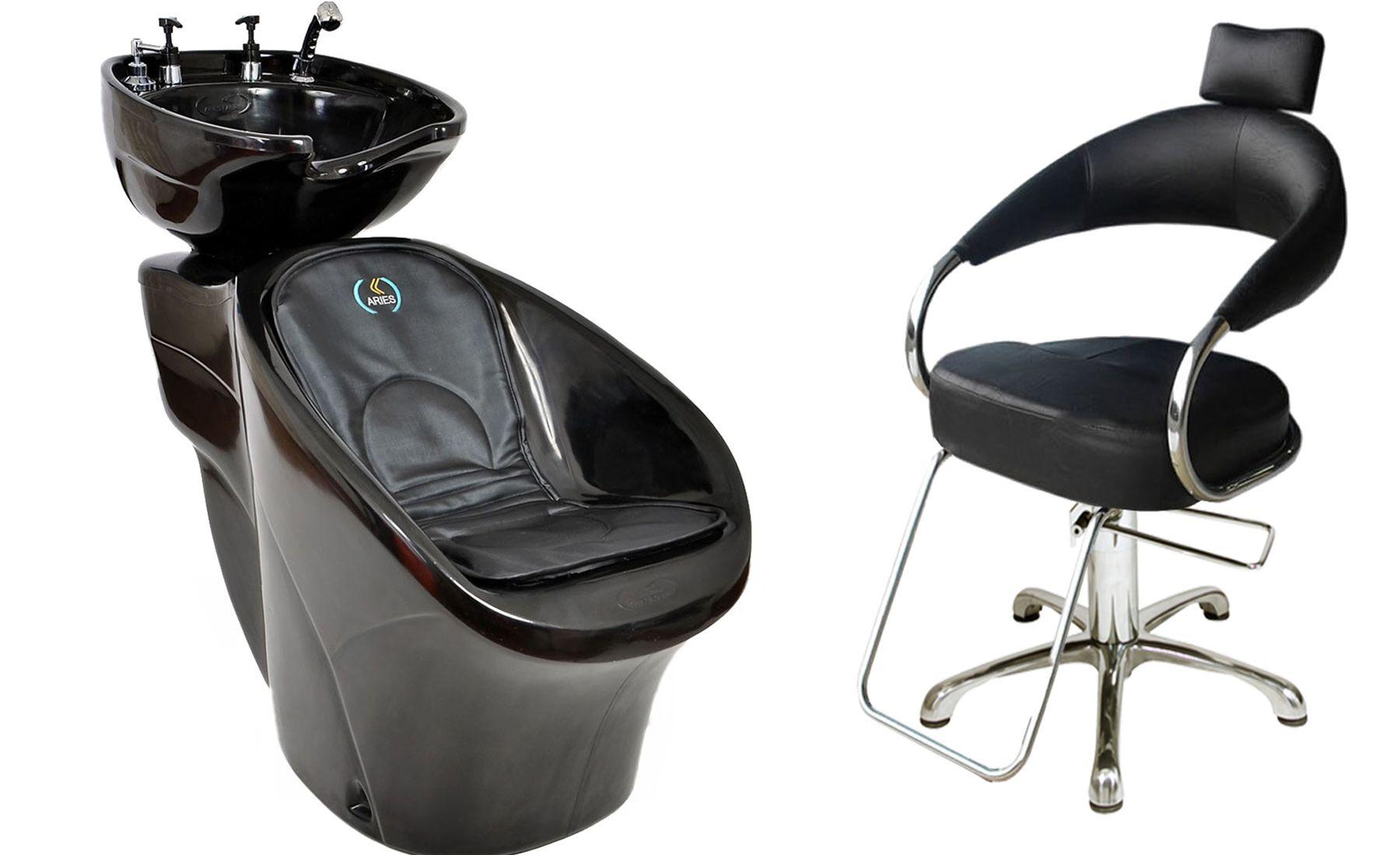 Lavatório Chic L-50 + Cadeira Hidráulica Futurama