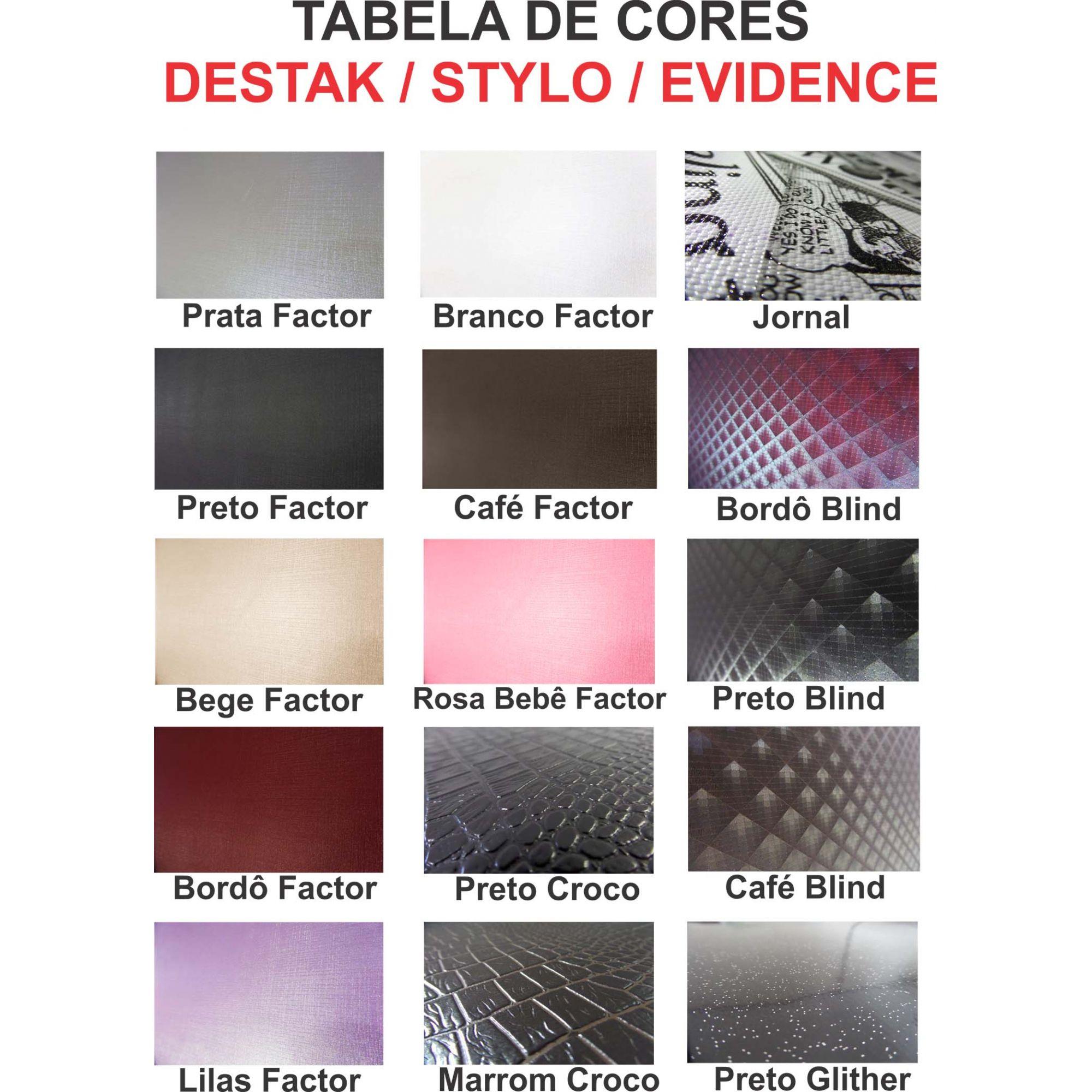Lavatório Destak Para Salão - Cuba de Louça Rosa Factor