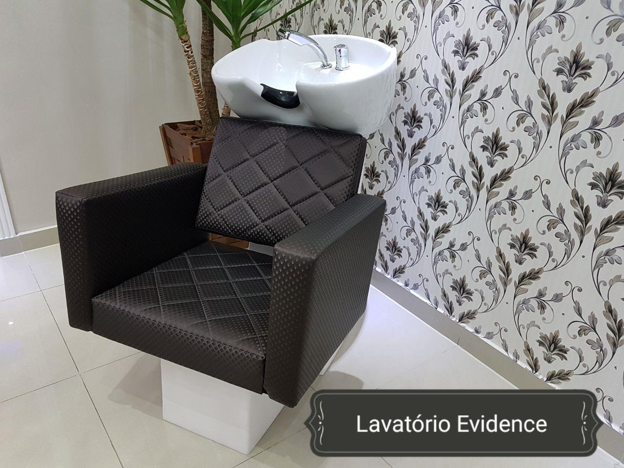 Lavatório Evidence Cuba Porcelana - Bullon Marrom Blind