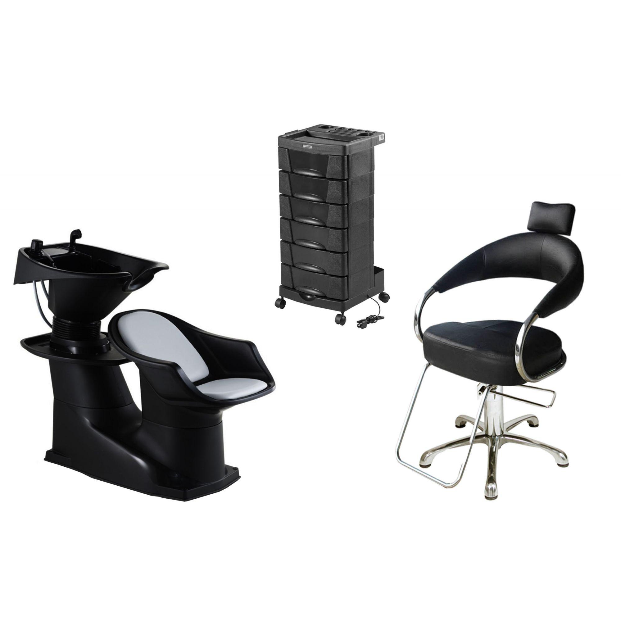 Lavatório Freedom + Cadeira Hidráulica Futurama + Beauty