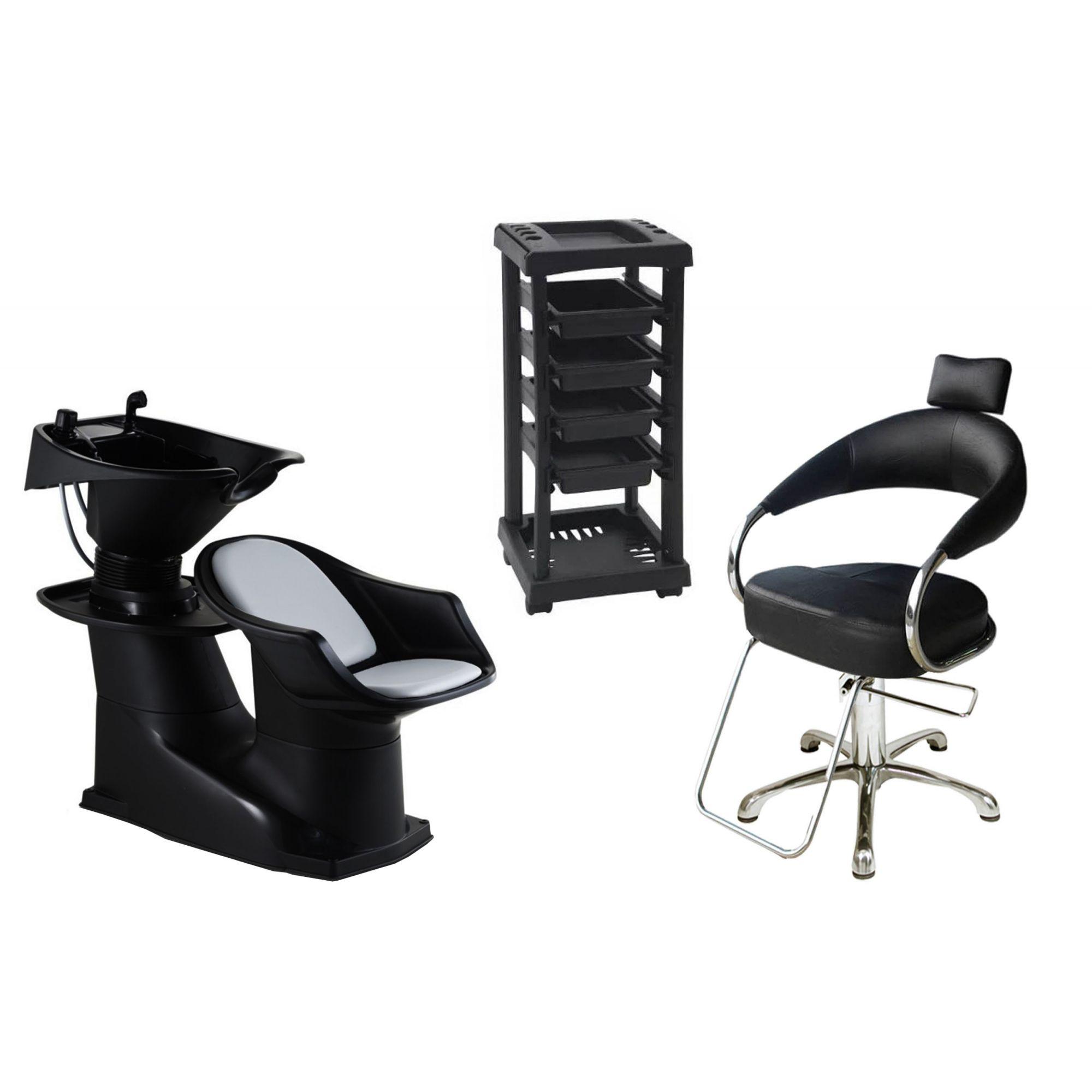 Lavatório Freedom + Cadeira Hidráulica Futurama + Santa Clara