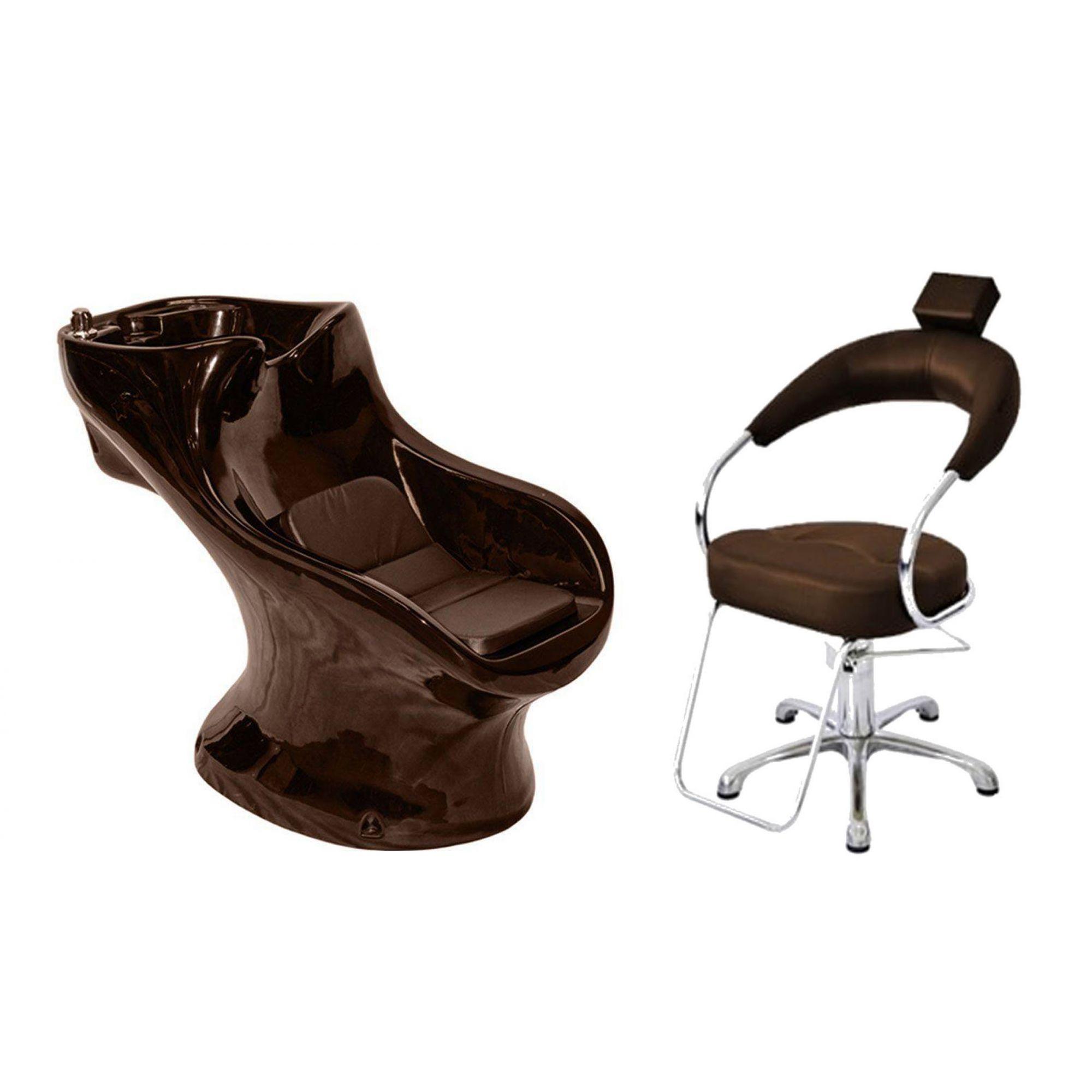 Lavatório Star Italiano + Cadeira Hidráulica Futurama