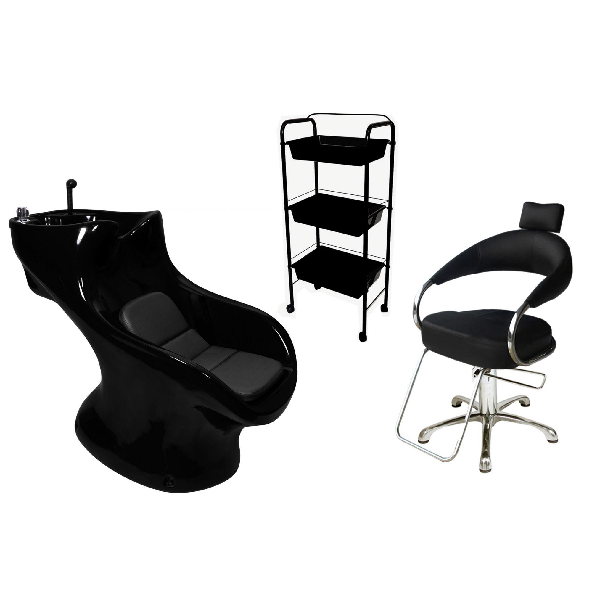 Lavatório Star Italiano + Cadeira Hidráulica Futurama + CG3 - BF