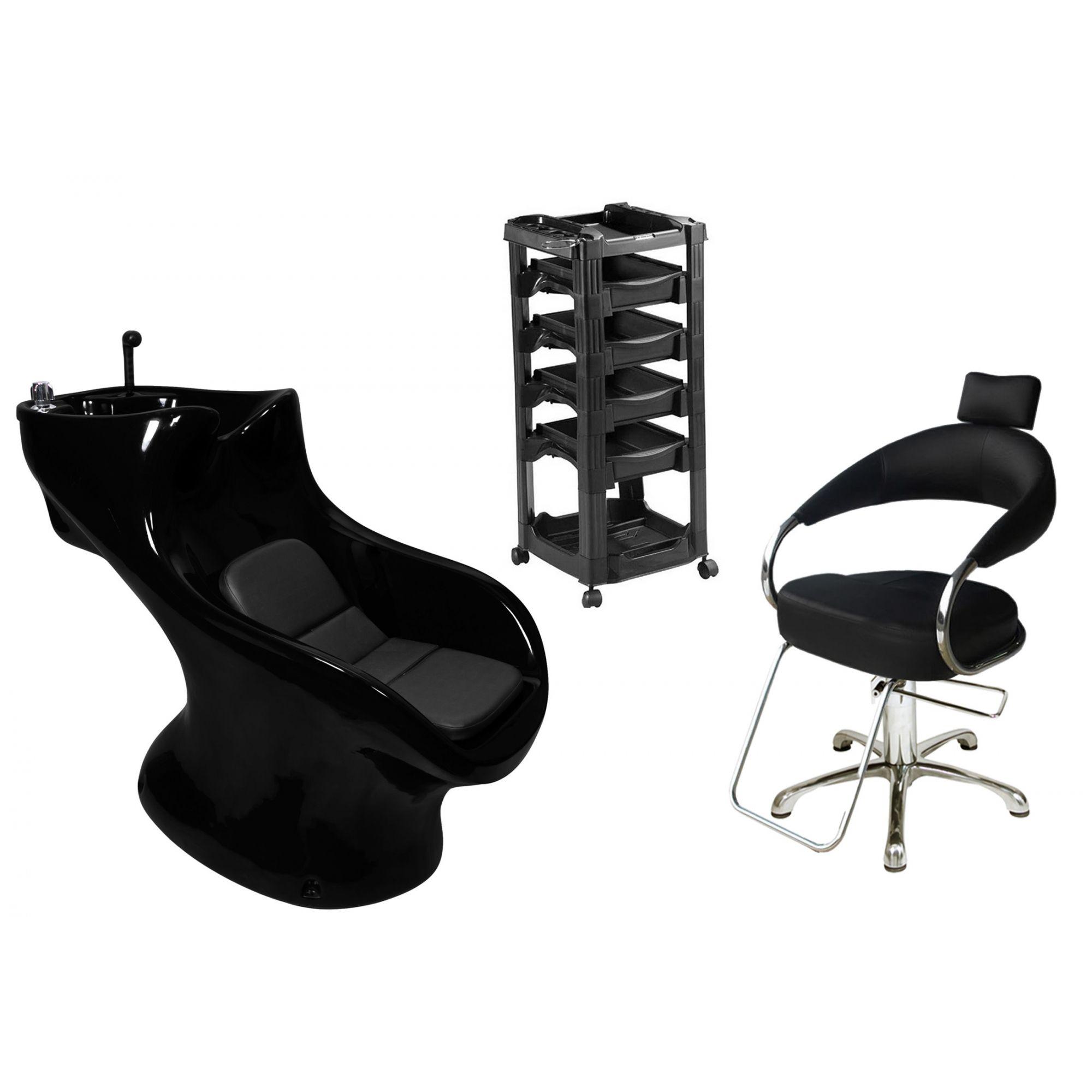 Lavatório Star Italiano + Cadeira Hidráulica Futurama + Vegas