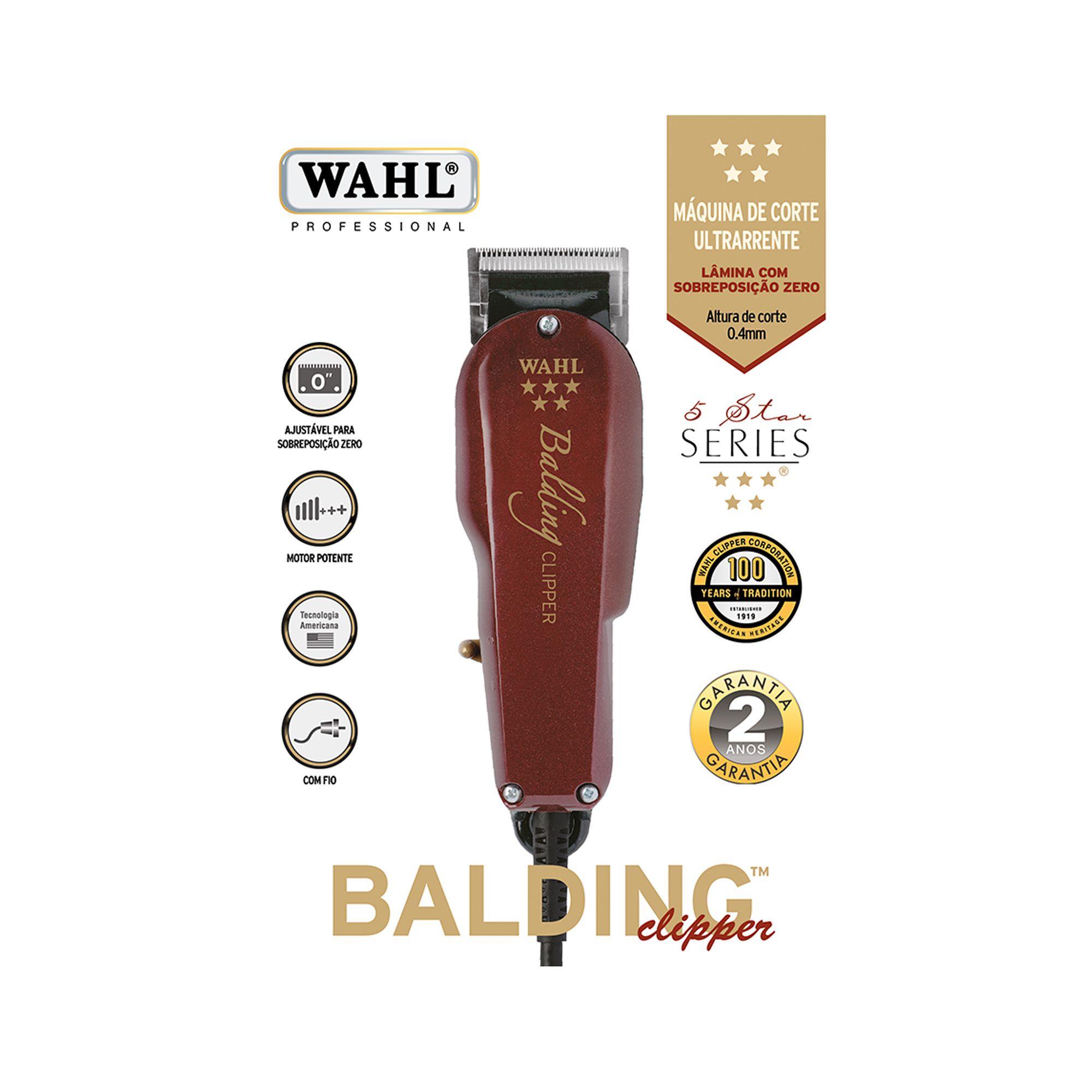 Maquina de Corte profissional 5 Star Séries Balding 127V - Wahl