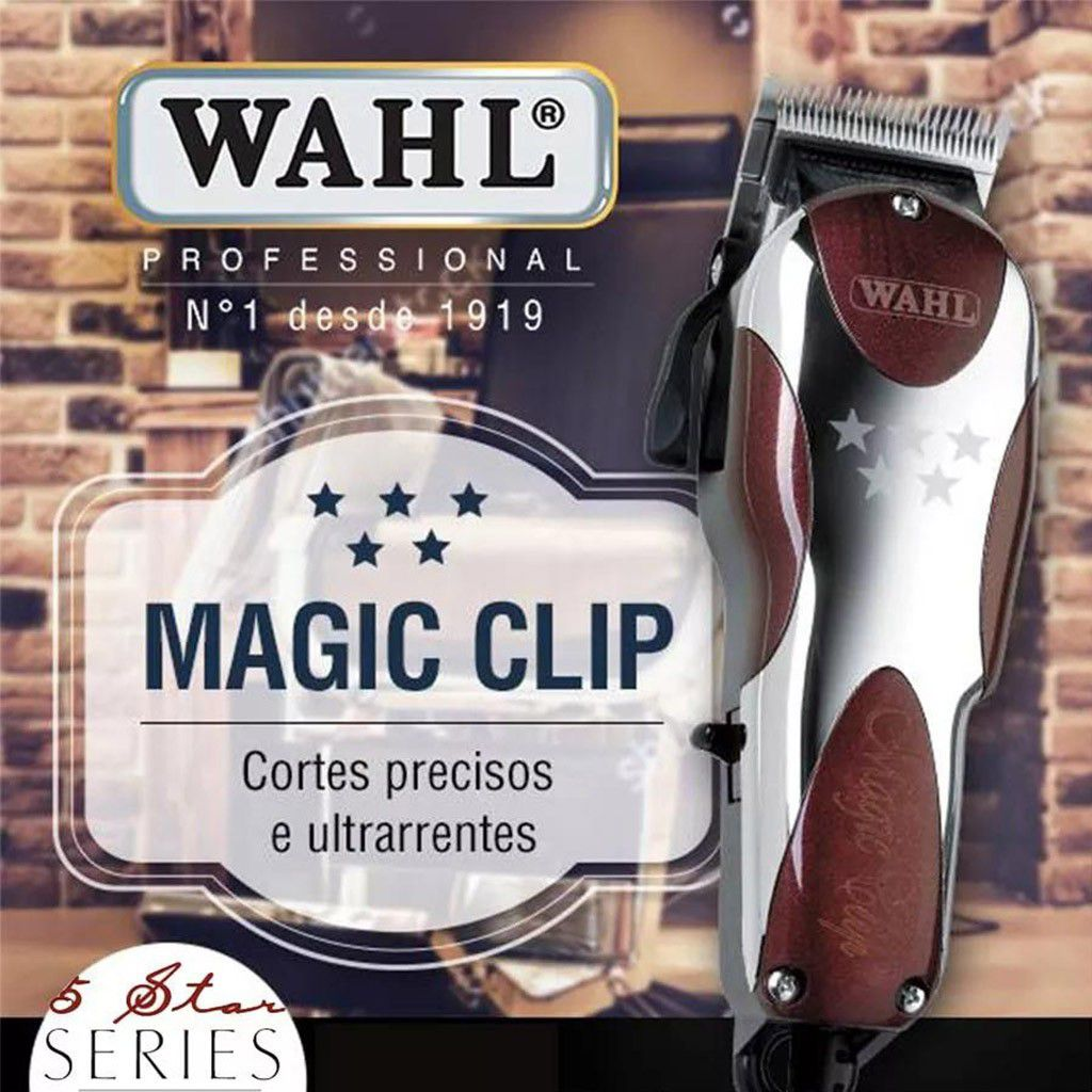 MAQUINA DE CORTE WAHL MAGIC CLIP
