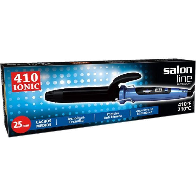 Modelador de Cabelo Salon Line 410 Ionic 25mm Bivolt