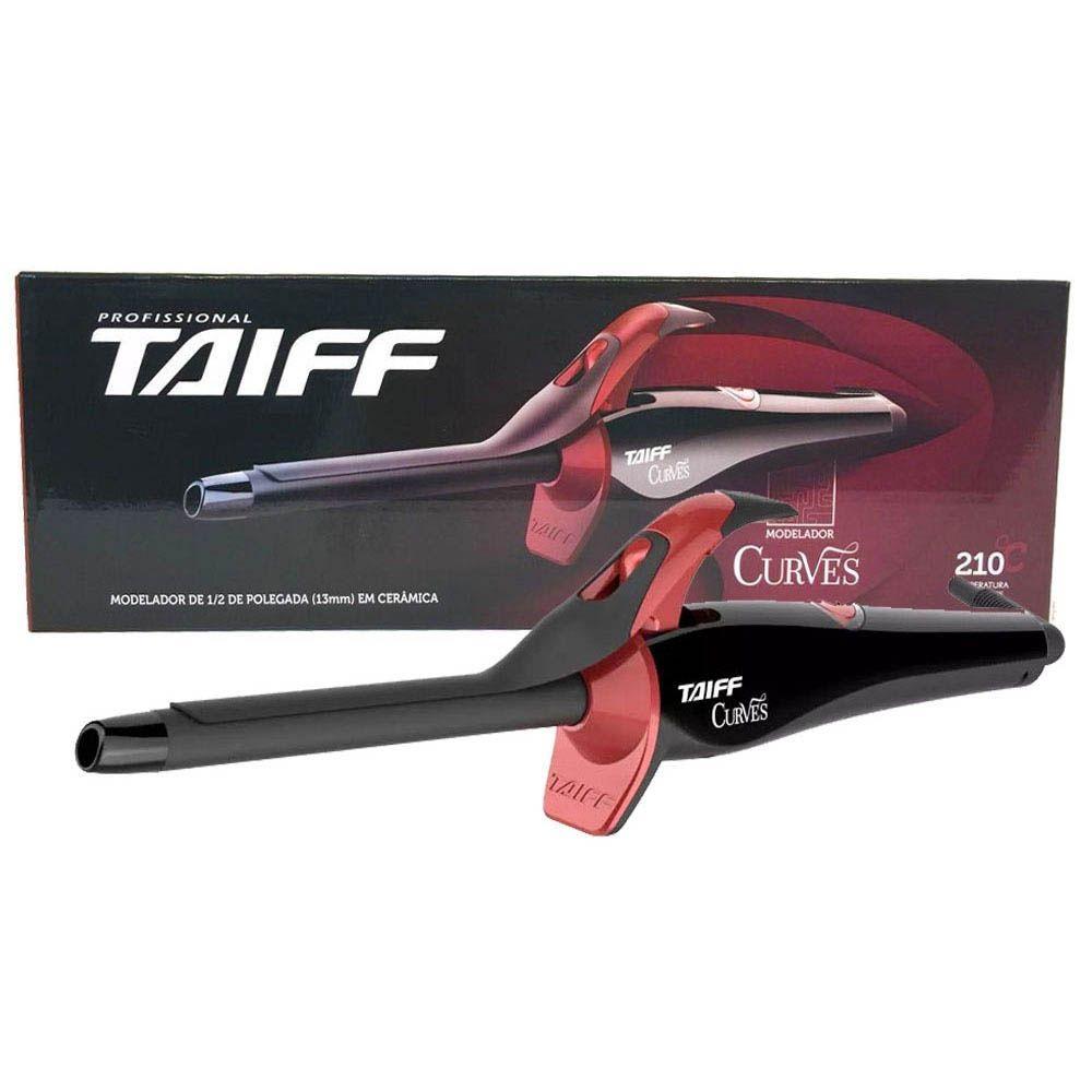 Modelador De Cachos Curves Bivolt Taiff 13mm 1/2 Pol