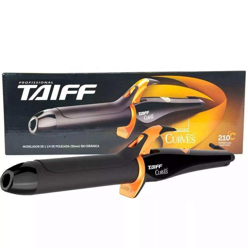 Modelador De Cachos Curves Bivolt Taiff 32mm 1 1/4 Pol