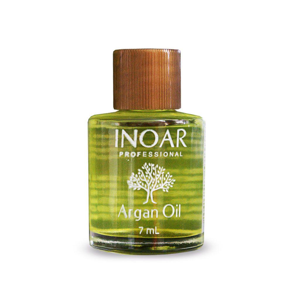 Óleo de Argan Inoar 7ml - Argan Oil - Caixa com 12 Unidades