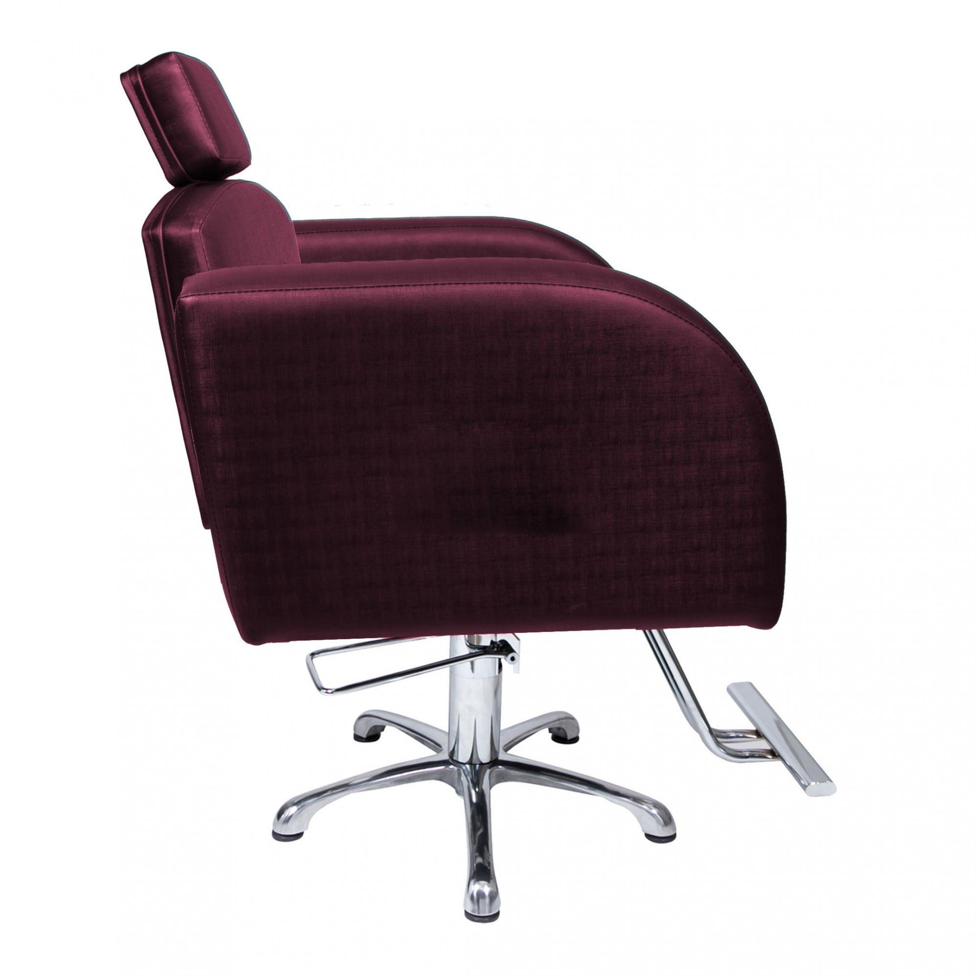 Poltrona Cadeira Hidráulica Destak Fixa Para Salão Bordo Factor