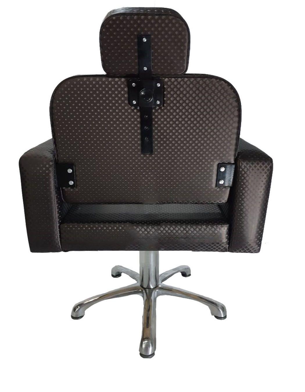 Poltrona Cadeira Hidráulica Elite Fixa Para Salão Café Blind