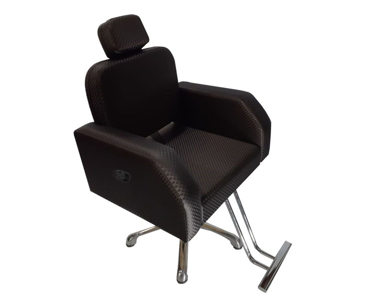 Poltrona Cadeira Hidráulica Elite Reclinável Para Salão Café Blind