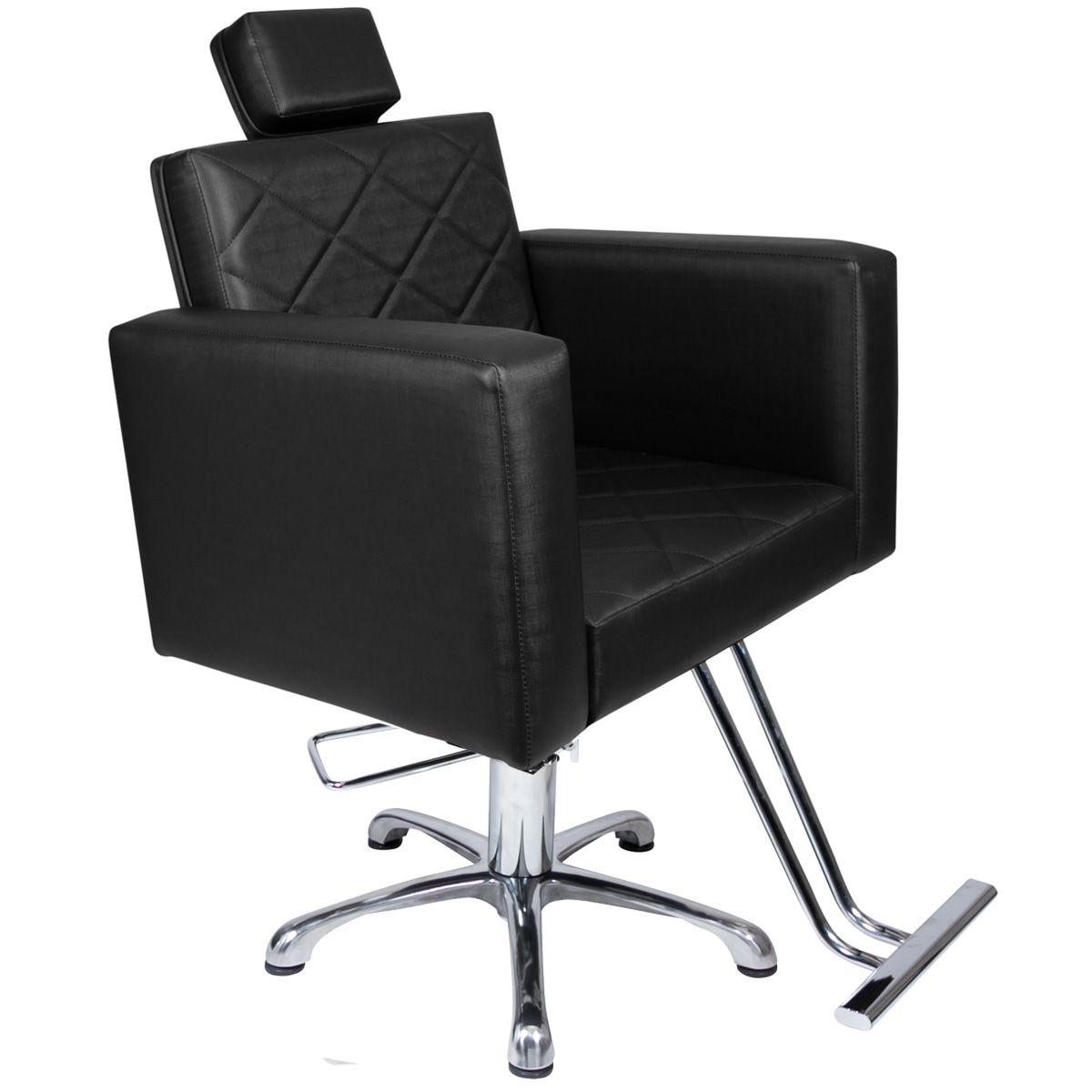 Poltrona Cadeira Hidráulica Evidence Fixa Para Salão