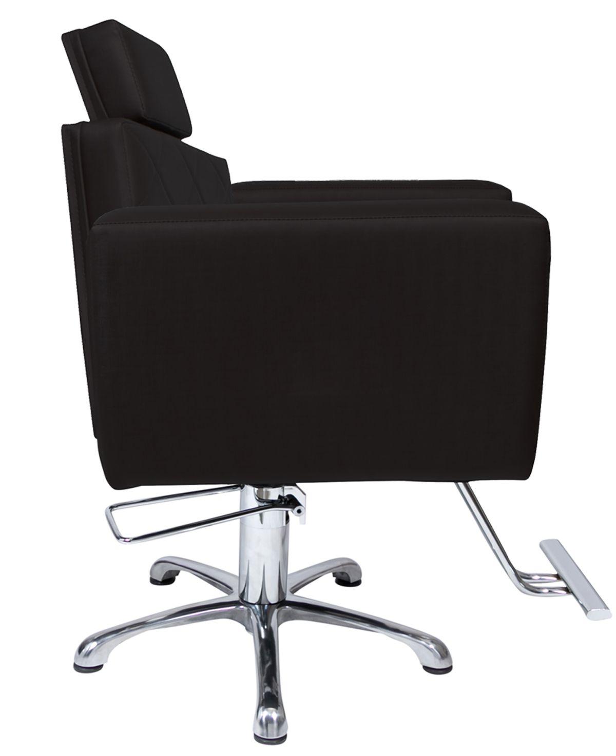 Poltrona Cadeira Hidráulica Evidence Fixa Preto Factor