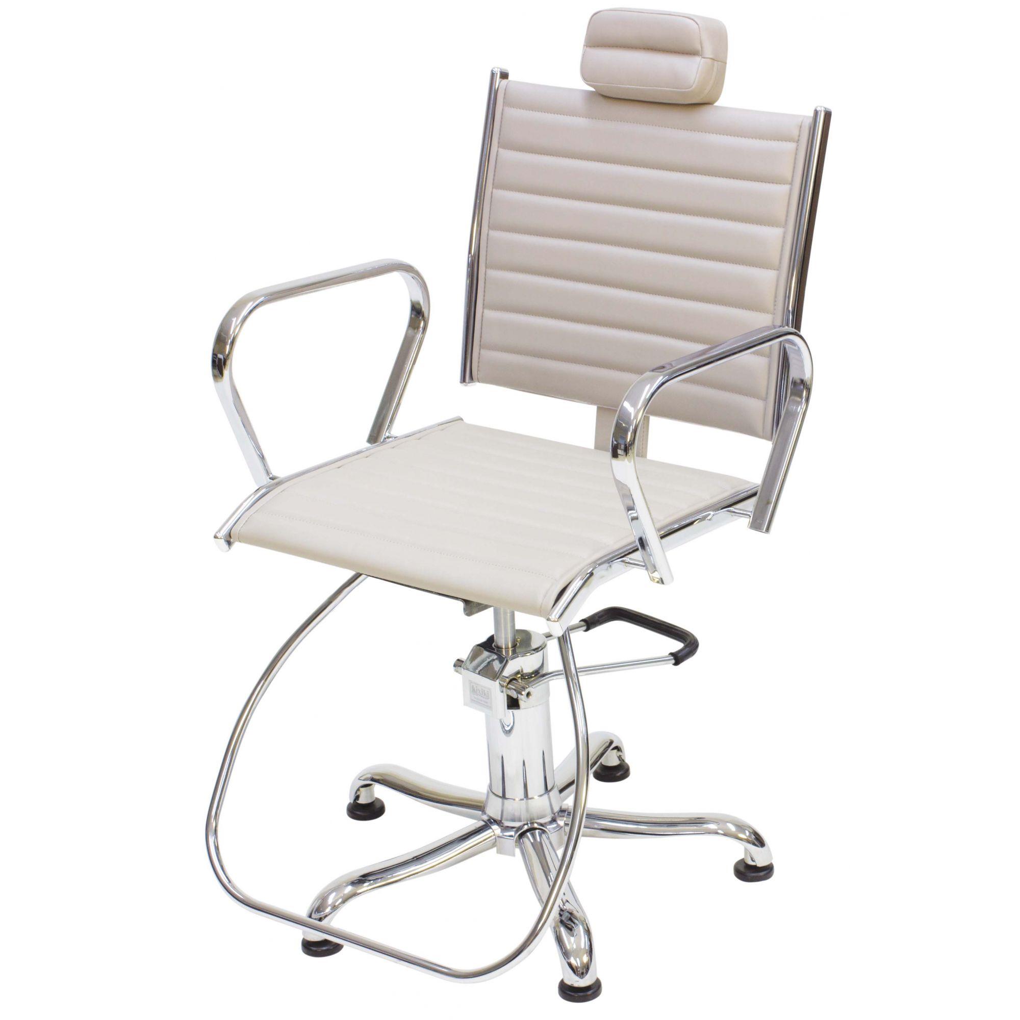 Poltrona Cadeira Kixiki Atenas Reclinável Para Cabeleireiro