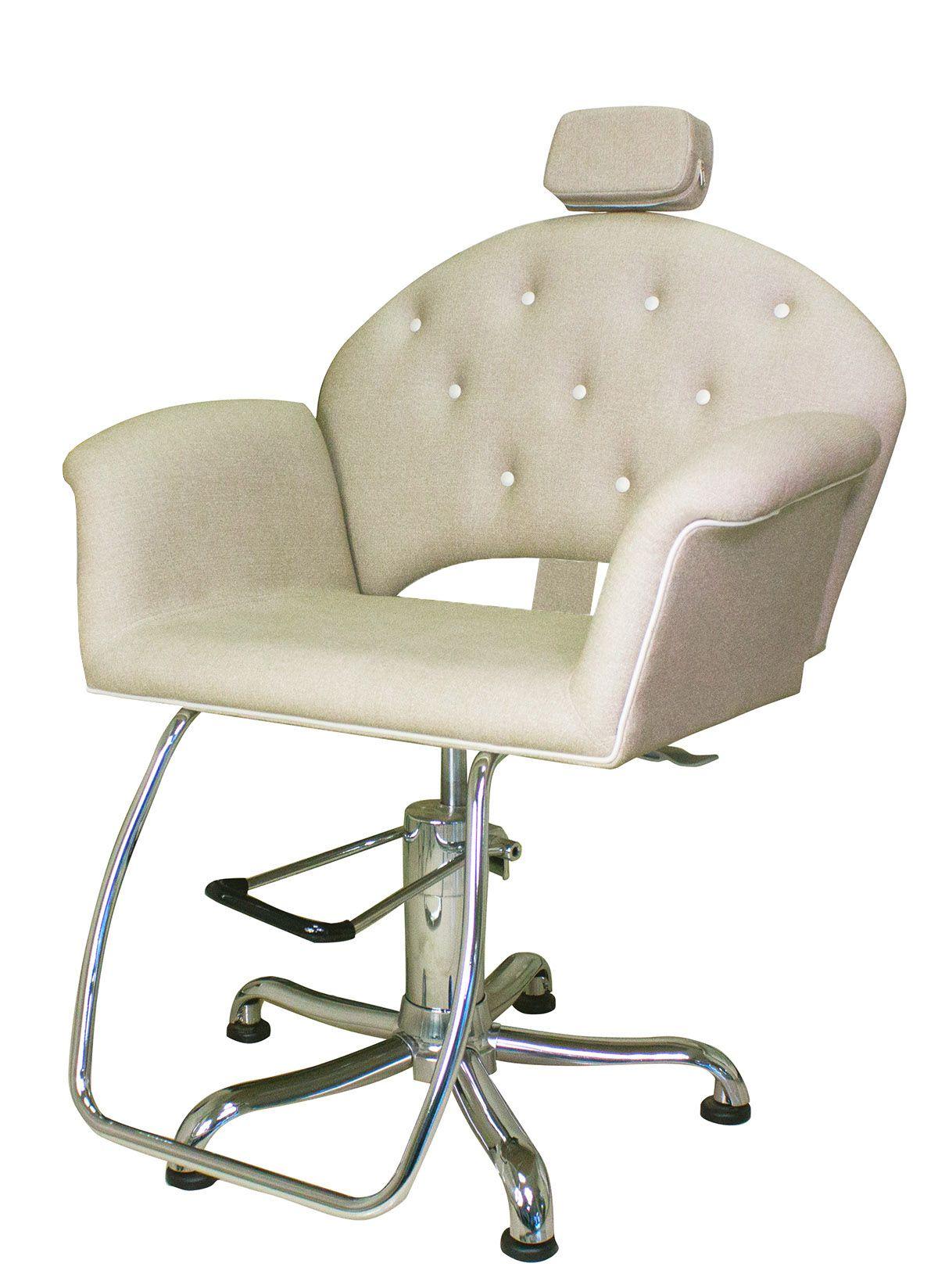 Poltrona Cadeira Kixiki Velvet - Reclinável Para Salão