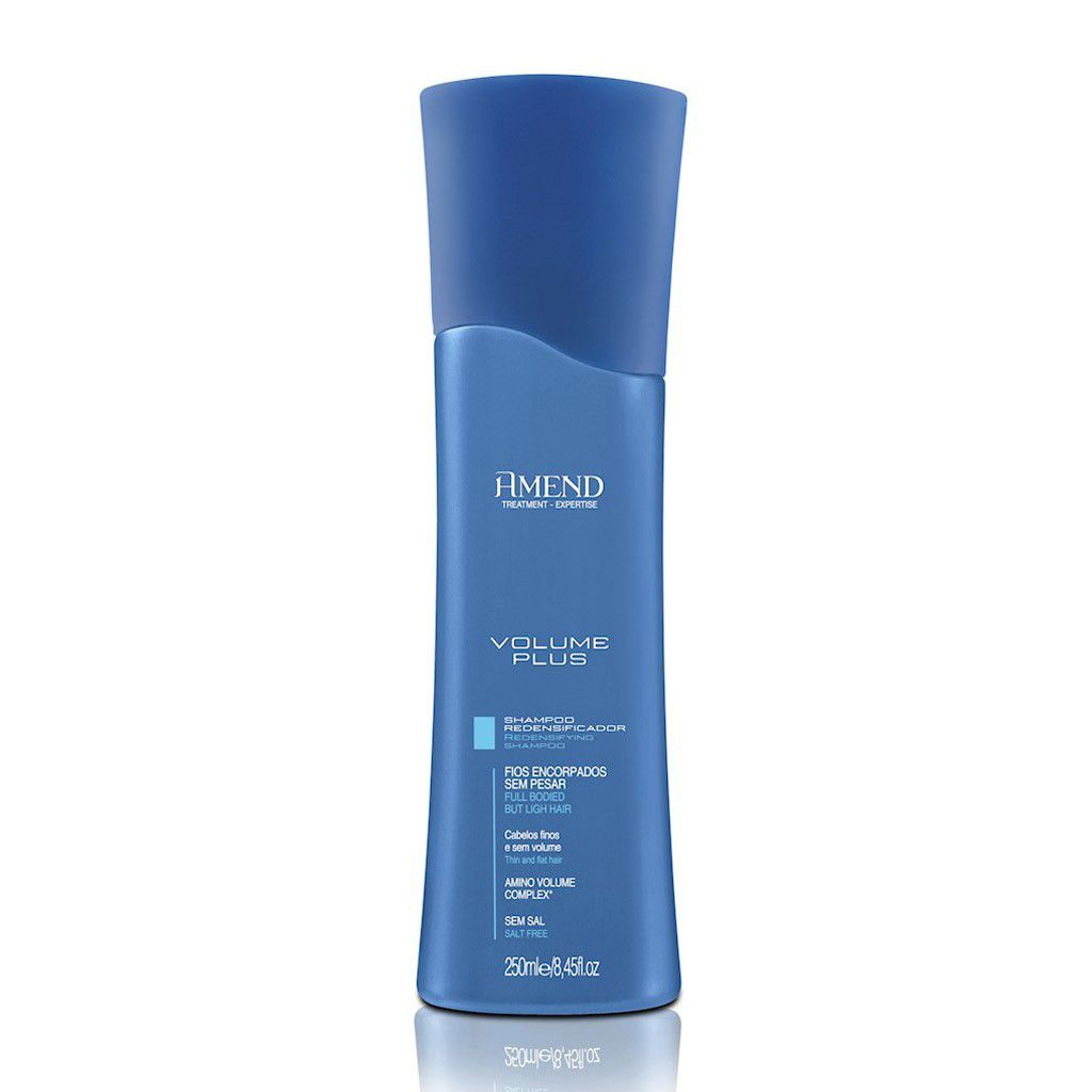 Shampoo Amend Redensificador Volume Plus 250ml