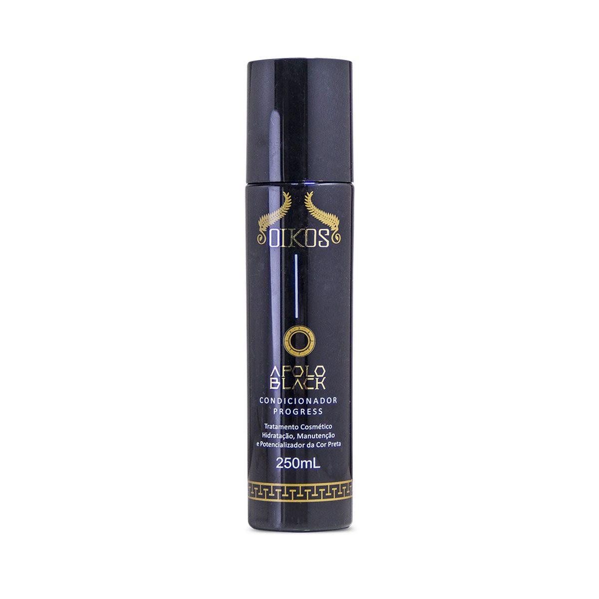 Shampoo Apolo Black 250ml+Máscara Matizadora 500 Gramas+Botox 500gr Keratina Hidrolisada