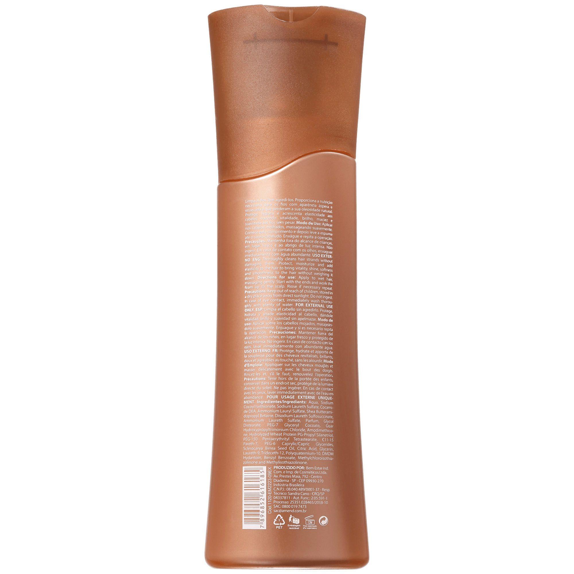 Shampoo Nutritivo Amarula - 250ml Amend